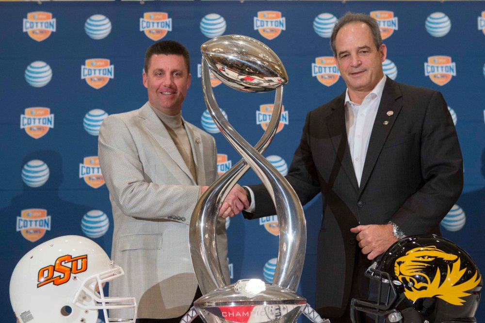 2014 Cotton Bowl-Head Coaches Press Conference, Thursday, January 2, 2014, Omni Mandalay Hotel, Irving, TX