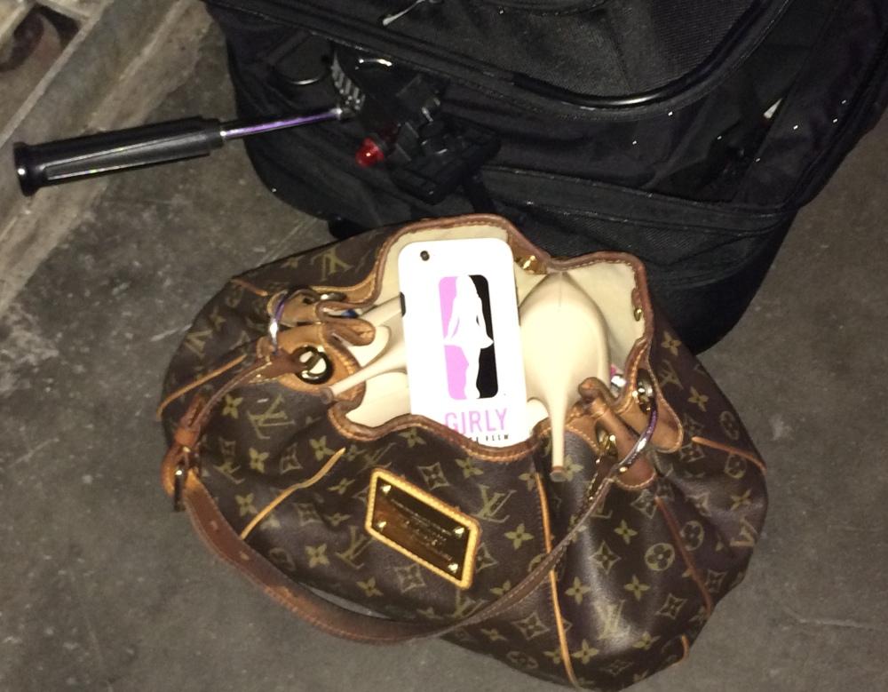 a pro's gear bag